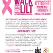 LILT for Women - Wolk for LILT - La prima camminata social - Ottobre 2020